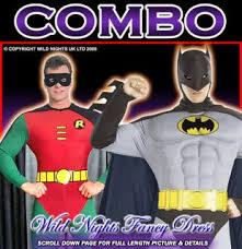 batman bat robin hero full boy kid party cosplay costume 6