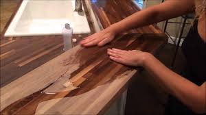 butcher block care youtube