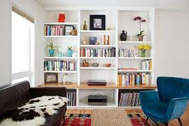 these 20 built in shelves will revitalize alot of space around the