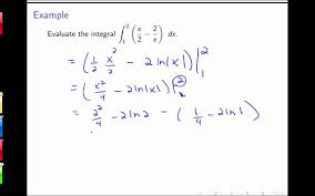 section 5 4 the indefinite integral and net change theorem youtube