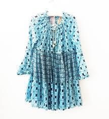 yvonne s mini hippy dress blue triangle garmentory