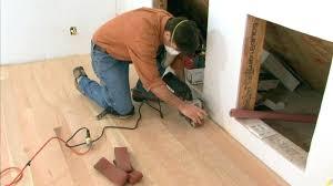Installing Engineered Hardwood Flooring How To Install Engineered Hardwood Installing