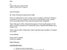 Invitation Letter Us Visa business visit invitation letter invitation letter for visa