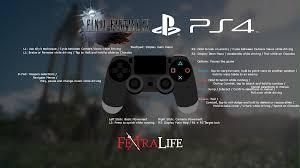 controls final fantasy xv wiki