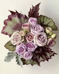 Lavender Roses Lavender Rose Arrangement Martha Stewart