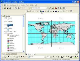 map using coordinates intro to mapping tabular data in arcgis