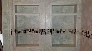 bathroom niche ideas how to design a preformed foam recessed shower niche diytileguy