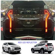 mitsubishi montero 2017 tail led rear reflector brake light mitsubishi pajero montero