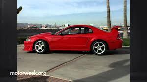 2000 ford mustang reviews motorweek retro review 2000 ford mustang cobra r