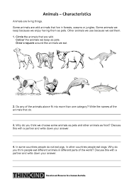 what u0027s alive living things worksheet nsw stage 1 student