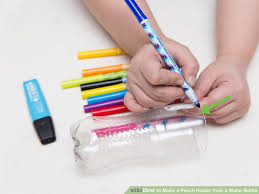 How To Decorate A Tin 3 Ways To Make A Pencil Holder From A Water Bottle Wikihow
