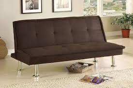 Microfiber Living Room Set Amazon Com Furniture Of America Neela Modern Microfiber Futon