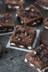 oreo cookie bars tastes better from scratch