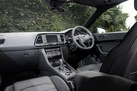 seat ateca interior seat ateca 1 4 petrol 2016 review pictures seat ateca 1 4 tsi