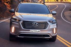 rent hyundai santa fe hyundai santa fe for rent suvad transport tour ltd