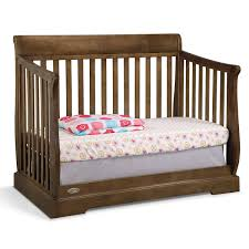 Graco Crib Convertible by Graco Cribs Maple Ridge 4 In 1 Convertible Crib In Dove Brown Free