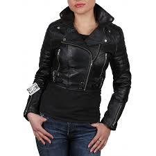 biker jacket women women black leather biker jacket sixty brandslock