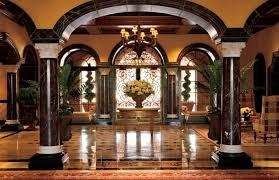 Luxury Lobby Design - classic luxury main lobby interior design of grand del mar resort