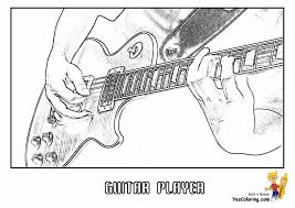 electric guitar coloring pages to print redcabworcester