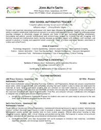 Student Teaching Resume Examples by Secondary Teacher Resume Example Secondary Schools Job