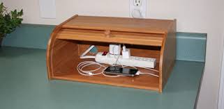 build a charging station diy breadbox charging station today s homeowner