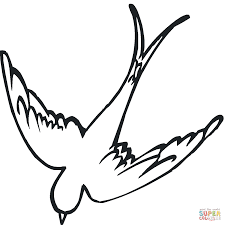 swallow 15 coloring page free printable coloring pages