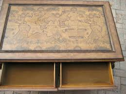 bombay trunk coffee table map coffee table old pine drawer world for sale bombay trunk