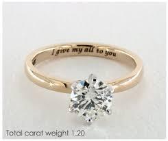 ring engravings meaningful ring engravings engagement ring
