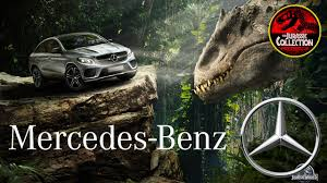 mercedes tv commercial mercedes 2016 gle coupé jurassic tv commercial