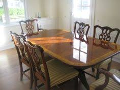 Ebay Furniture Dining Room Mahogany Victorian Style Dining Room Table And Six Chairs By