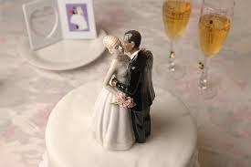 amazon com porcelain bi racial ethnic wedding cake
