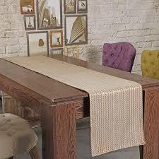 home decor table runner jacquard table runner cloth striped doily wedding long runner fabric