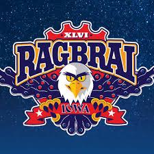 Bald Eagle On Flag Bike Like An Eagle U2013 Ragbrai