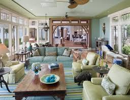 awesome coastal living room colors and light blue neutral beach ho