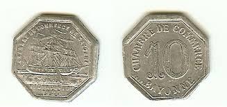 chambre du commerce bayonne bayonne pyrénées atlantiques chambre of commerce 10 cent 1920 g