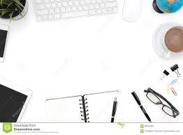 White Office Desk by Frame Of White Office Desk Table Stock Photo Image 83916462