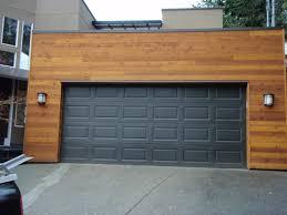 garage door luxurious cool garage doors with dark wooden door