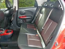 nissan juke interior back seat used burnt red metallic nissan jukefor sale dorset