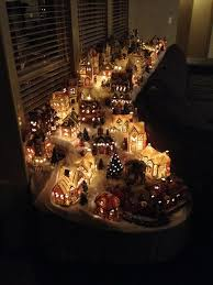 Christmas Town Decorations Best 25 Christmas Village Display Ideas On Pinterest Christmas
