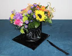 graduation cap centerpieces diy graduation cap centerpiece with flowers petal talk