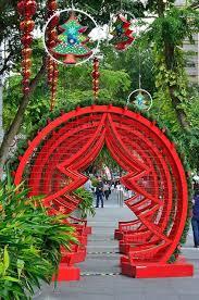 Christmas Decorations Tree Singapore beautiful red christmas tree decoration ideas christmas celebrations