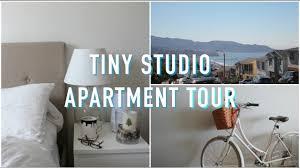 Studio Apartment Tiny Studio Apartment Tour Youtube