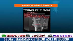 titan gel di bogor cod pesan antar gratis 082113444250