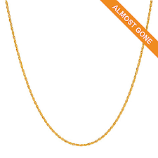 chain necklace metal images Lambert cheng 24k gold choice of length rope chain necklace