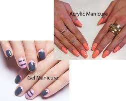 gel manicure vs acrylic manicure ilookwar com