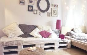 canapé lit en palette canape lit en palette diy palette bois canape home cinema