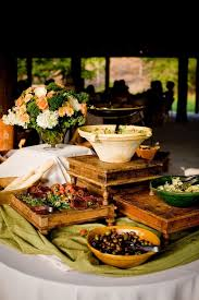 food arrangements buffet table decorating ideas how to set arrangements