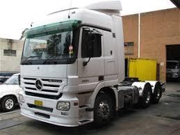mercedes prime mover 2005 prime mover truck mercedes actros model 2654 515 071