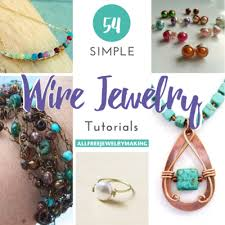 tutorial necklace making images 54 simple wire jewelry making tutorials png