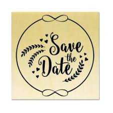 Save The Date Stamp Mariage Save The Date Le Studio Diy